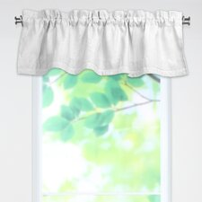 "Circa Solid Rod Pocket Tailored 54"" Curtain Valance"