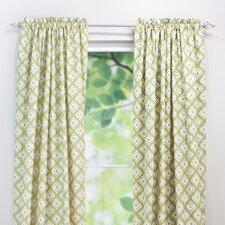 Macie Linen Rod Pocket Curtain Single Panel