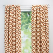 Macie Linen Tab Top Curtain Single Panel
