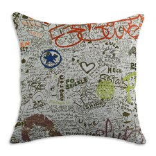 <strong>Chooty & Co</strong> Just The Facts Polyester Pillow
