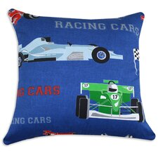 Racing Cars Cotton Pillow