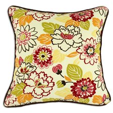 Maya Poppy Cotton Pillow