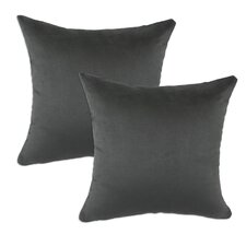 Passion Suede Polyester PillowSet of 2)