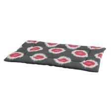 Ikat Dot Flamingo Single Channel Padded Dog Mat