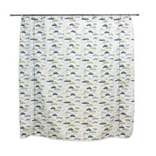 Retro Rides Felix Shower Curtain