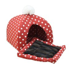 Ikat Dot House Dog Dome