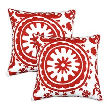 Suzani Cotton Pillow (Set of 2)