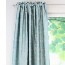 <strong>Chooty & Co</strong> Embroidered Rod Pocket Curtain Single Panel