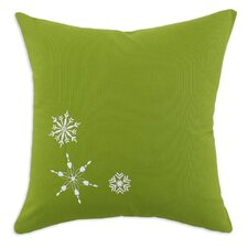 Nile 3 Embroidered Snowflake Pillow