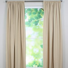 <strong>Chooty & Co</strong> Debutante Cotton Rod Pocket Curtain Single Panel