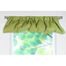 "Circa Solid Balloon 80"" Curtain Valance"