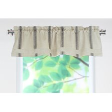 "Palais Rod Pocket Tailored 54"" Curtain Valance"