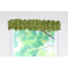 Circa Solid Sleeve Topper Curtain Valance