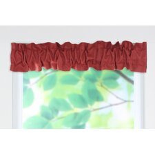 "Circa Solid Sleeve Topper 54"" Curtain Valance"