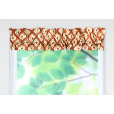 "Macie Sleeve Topper 54"" Curtain Valance"