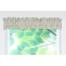 "Linen Sleeve Topper 54"" Curtain Valance"
