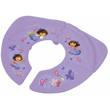 Nickelodeon Dora the Explorer Traveling / Folding Potty Seat Bubbles