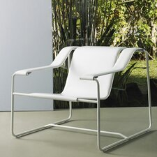 <strong>Luxo by Modloft</strong> Frederick Leather Lounge Chair