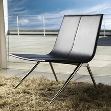 <strong>Luxo by Modloft</strong> Mayfair Leather Lounge Chair