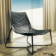 <strong>Luxo by Modloft</strong> York Leather Lounge Chair