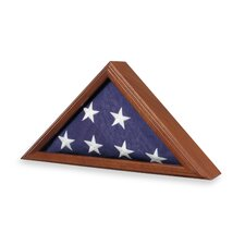 Capitol Flag Case / Urn in Walnut