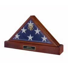Vice Presidential Pedestal Combination Flag Case / Urn