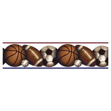 Studio Designs Play Ball Peel and Stick Wallpaper Border