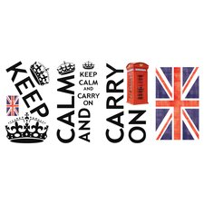 Keep Calm Peel and Stick Wall Decals