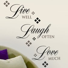 Room Mates 22 Piece Deco Laugh Wall Decal Set