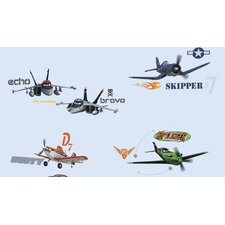 Planes Peel and Stick Wall Decals