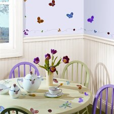 Studio Designs 51 Piece Jelly Bugs Wall Decal Set