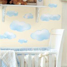 Studio Designs 19 Piece Clouds Wall Decal Set