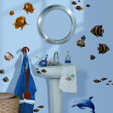 Studio Designs 24 Piece Under the Sea Wall Decal Set