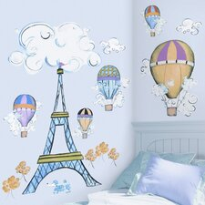 Megapacks 24 Piece Oh La La Wall Decal Set