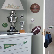 Collegiate Sports Appliqué University of South Florida Bulls Wall Decal