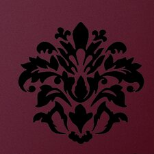 <strong>Room Mates</strong> Room Mates Deco Damask Wall Decal in Black