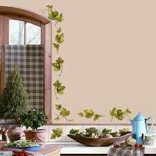 <strong>Room Mates</strong> Room Mates Deco 26-Piece Evergreen Ivy Wall Decal