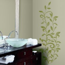 Room Mates 26 Piece Deco Leaf Scroll Wall Decal Set