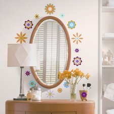 <strong>Room Mates</strong> Room Mates Deco 61-Piece Graphic Flowers Wall Decal