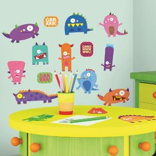 <strong>Room Mates</strong> Studio Designs Monsters Wall Decal