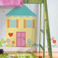 Megapacks Build-a-House Wall Decal