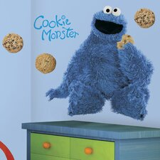 <strong>Room Mates</strong> Sesame Street Licensed Designs Cookie Monster Giant Wall Decal
