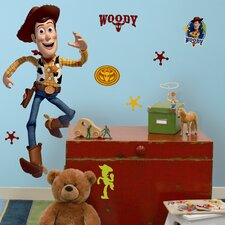 Licensed Designs Toy Story Woody Giant Wall Decal