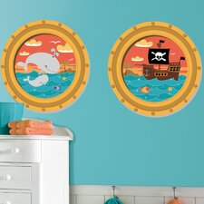 <strong>Room Mates</strong> High Seas Wall Decal