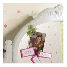 Room Mates Deco Glitter Garden Wall Decal