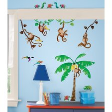 <strong>Room Mates</strong> Monkey Business Wall Decal