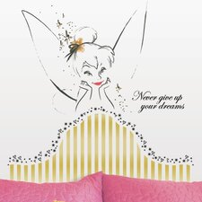 <strong>Room Mates</strong> Disney Fairies Tinkerbell Headboard Giant Wall Decal