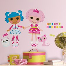 <strong>Room Mates</strong> Lalaloopsy Giant Wall Decal