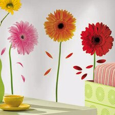 <strong>Room Mates</strong> Gerber Daisies Wall Decal