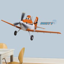 <strong>Room Mates</strong> Planes - Dusty Crophopper Peel and Stick Giant Wall Decal